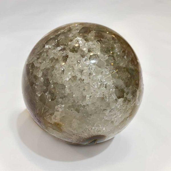 Agate Designs Amethyst Geode Sphere Back 250