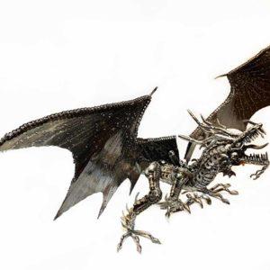 Agate Designs Dragon Sculpture Side
