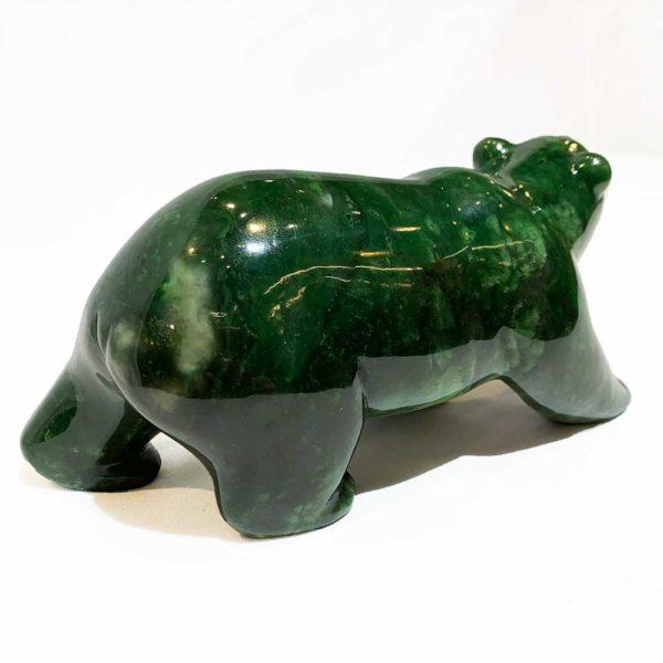 Agate Designs Jade Bear Back