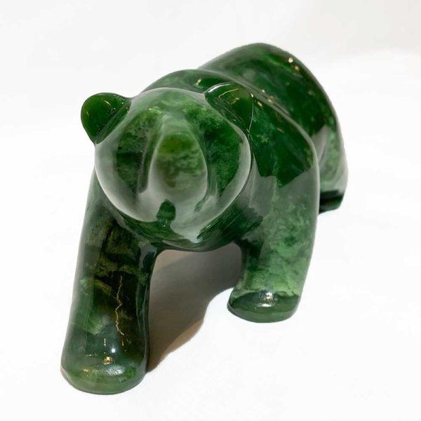 Agate Designs Jade Bear Front