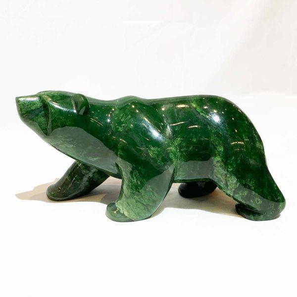 Agate Designs Jade Bear Side
