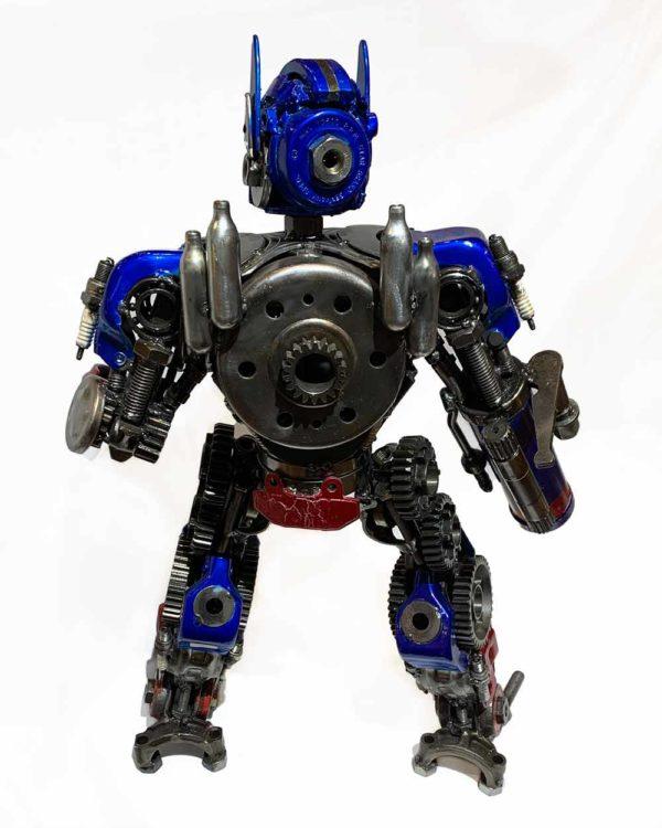 Agate Designs Optimus Prime Back