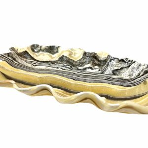 Agate Designs Zebra Lace Onyx Bowl 001 Side NB