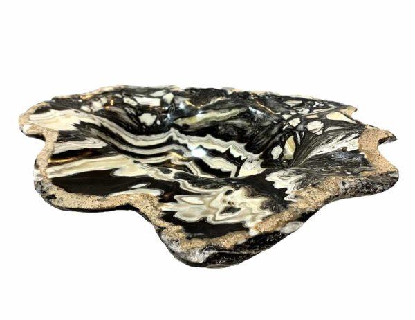 Agate Designs Zebra Lace Onyx Bowl 002 Side NB