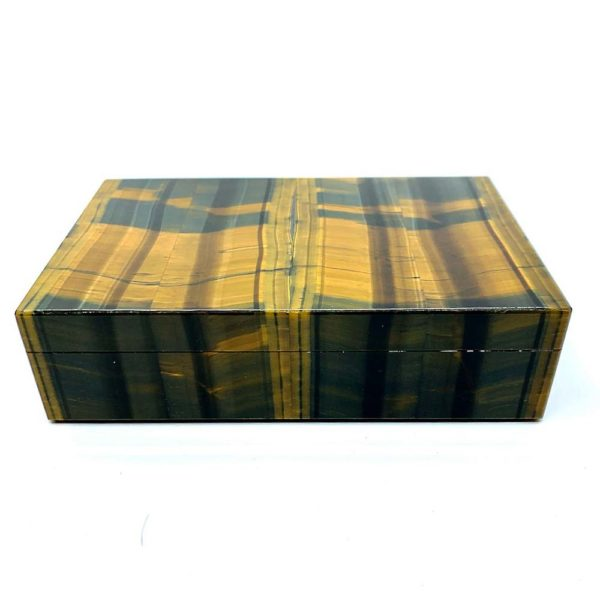 Agate Designs - Tiger Eye Box Front