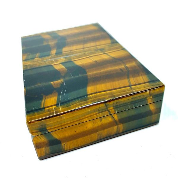 Agate Designs - Tiger Eye Box Side